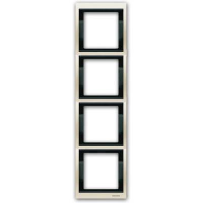Marco 4 elementos vertical blanco jazmin 8474bl Olas Niessen
