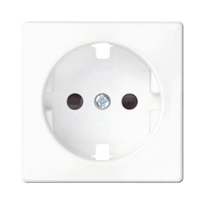 Tapa base enchufe schuko simon 82041-30 color blanco