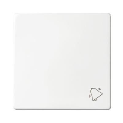 Tecla blanca pulsador símbolo campana 82017-30