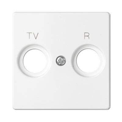 Tapa 2 tomas television 82053-30 blanca Simon