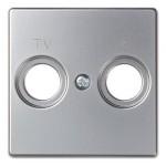 Tapa television radio 82053-33 82 Simon aluminio mate
