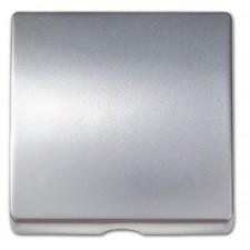 Tapa salida cable 82051-33 aluminio mate Simon
