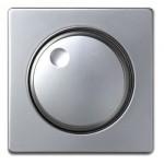 Tapa regulador electrónico Simon 82 aluminio 82054-33