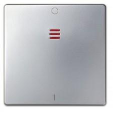 Tecla interruptor bipolar 16A piloto 82032-33 aluminio Simon 82