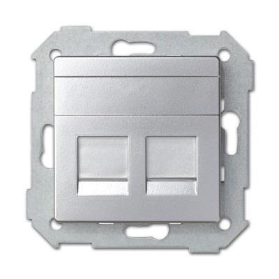 Tapa adaptador doble conexi n rj45 amp 82006 33 simon 82 - Simon 82 precios ...