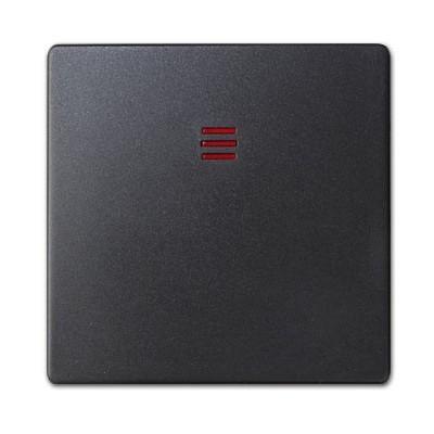 Tecla interruptor pulsador visor Simon 82011-38 grafito