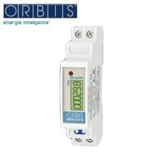 Contador de energía monofásico 1 módulo ORBIS CONTAX D-2511 S0