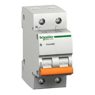 Automatico magnetotermico Domae 6A 12507 Schneider