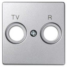 Tapa television radio 82053-93 82 Simon aluminio frío