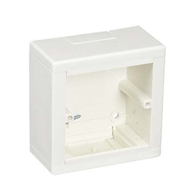 Caja de mecanismo universal enlazable para superficie blanco 636370 Legrand