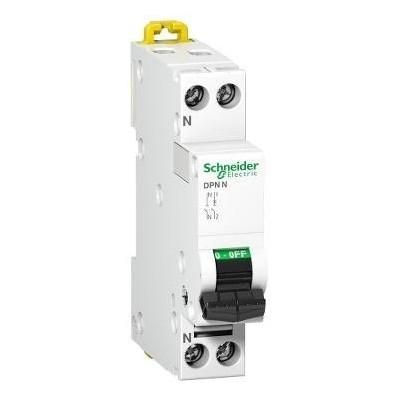 Interruptor automático 10A iDPN F Schneider 1P+N A9N21644