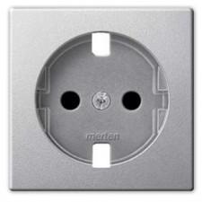 Tapa enchufe TT Elegance Schneider MTN2330-0460 Aluminio