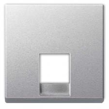 Tapa toma de teléfono Elegance Schneider MTN463560 aluminio