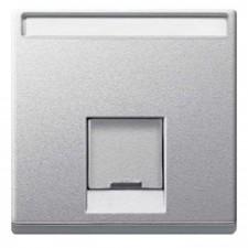 Tapa conector RJ45 Schneider MTN465860 Elegance Aluminio