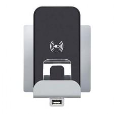 Cargador inalámbrico por inducción + USB 664797 Legrand Niloe