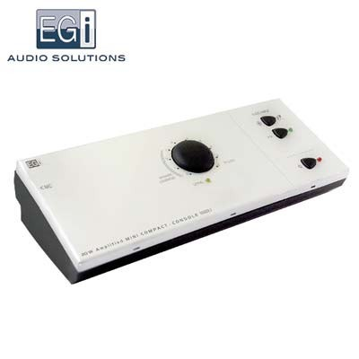 Consola audio Mini Compact autoamplificada 20W Bluetooth AUX IN 10403.1 EGI