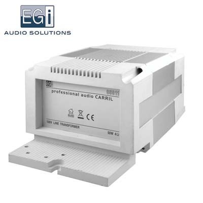 Transformador línea 100V-baja impedancia 4 ohm simétrico 50W 05011 EGI
