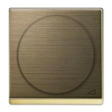 Tapa regulador electrónico 8560.2 OE Niessen Sky oro envejecido