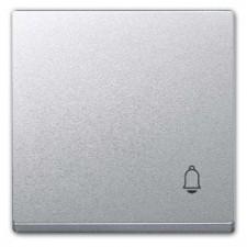Tecla símbolo timbre Elegance Schneider MTN439860 Aluminio