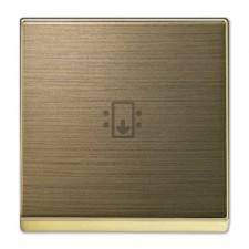 Tapa interruptor de tarjeta Niessen 8514 OE Sky oro envejecido