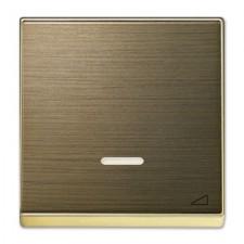 Tecla regulador electrónico pulsación Niessen Sky 8560.1 OE oro envejecido
