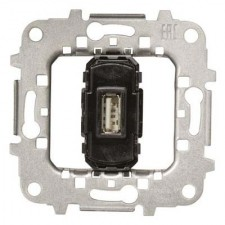 Toma cargador USB simple 2A 5V 8185.2 Niessen