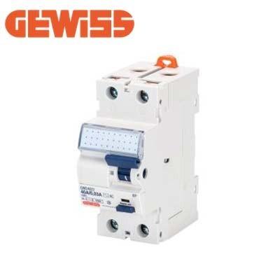 Diferencial superinmunizado 40A 2P GEWISS GWD4205 clase A-IR