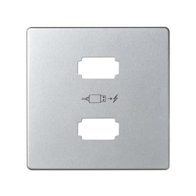 Tapa cargador usb simon 82 8201096 033 aluminio mate precio - Simon 82 precios ...