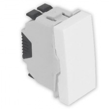 Interruptor Efapel 45010 SBR Quadro 45 color blanco