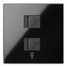 Kit front 1 elemento 2 tomas RJ45 10020111-138 Simon 100