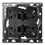 Kit back 2 tomas RJ45 1 elemento 10010111-039 Simon 100