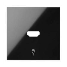 Tapa conector HDMI 10001094-138 Simon 100 negro