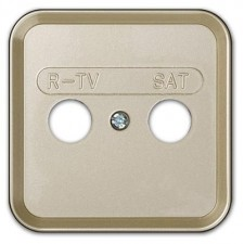 Tapa toma senal r-tv sat simon 31097-64 Cava