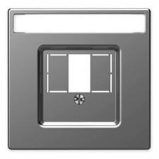 Tapa cargador USB doble schneider MTN4250-6036 D-life Aluminio