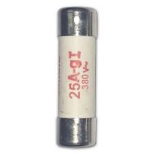 Fusible cilíndrico 25A 8x32 Clase gG Simon 11941-31