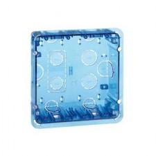 Caja de empotrar 2 módulos dobles 51020102-039 Simon 500 Cima