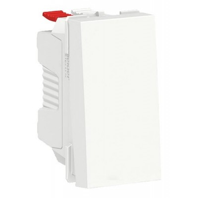 Interruptor Schneider NU310118 New Unica blanco Polar