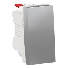Interruptor Schneider NU310130 New Unica Aluminio