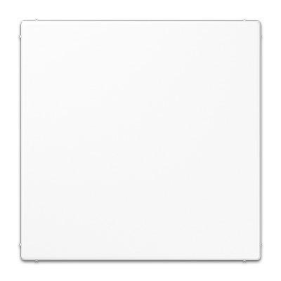 Placa ciega con soporte blanco alpino jung ls994bww ls990