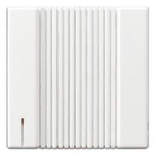Placa para zumbador blanco alpino jung ls967ww ls990