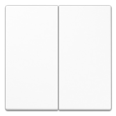 Tecla interruptor pulsador doble blanco alpino ls990 jung ls995ww