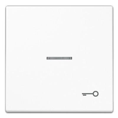 Tecla pulsador con visor simbolo puerta blanco ls990 jung ls990ko5tww