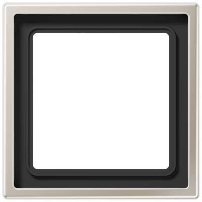 Marco 1 elemento Jung ES 2981 Acero LS990