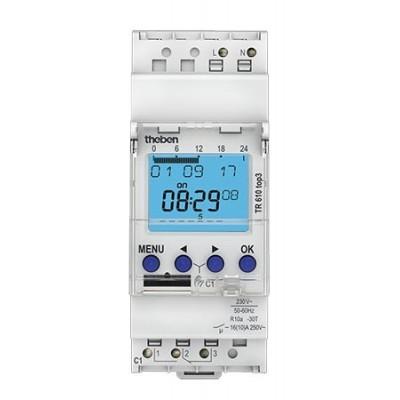 Interruptor horario digital Theben TR 610 top3 6100130