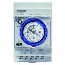 Interruptor horario analógico Theben 1810011 SUL181D con reserva 3 módulos