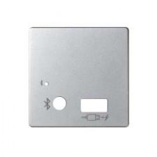 Tapa mecanismo bluetooth cargador USB 8201085-033 Simon 82 aluminio mate