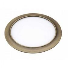 Downlight LED circular cuero 15W 4000K luz intermedia