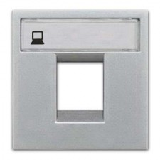 Tapa conector rj45 n2218.1pl serie zenit plata niessen