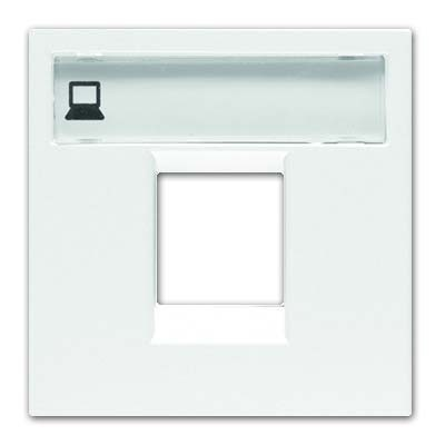 Tapa conector rj45 n2218.1bl serie zenit blanco niessen