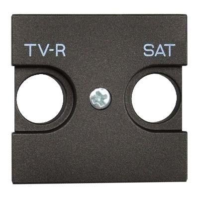 Tapa toma antena TV-R / SAT antracita n2250.1an zenit niessen